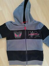 Spiderman Fleece Jacke Gr 122