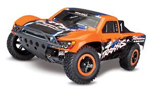 Traxxas 58076-4 Slash VXL 1/10 2WD Brushless Short Course Racing Truck Orange Sp