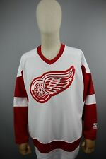 Vintage Detroit Red Wings Starter Jersey NHL Hockey Size XL