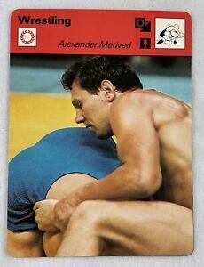 1977-79 Sportscaster Card-Wrestling (#15-08)-Alexander Medved-Only One Defeat