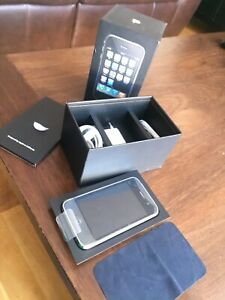 Brand new iPhone 3G, original foil and foiled accessories, never used