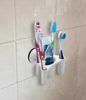 Leisurewize Home Caravan Motorhome Bathrooms Portable Suction Toothbrush Holder