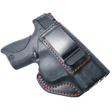 For M&P Shield 9mm .40 Cal IWB Smith and Wesson Concealed Carry Leather Holster