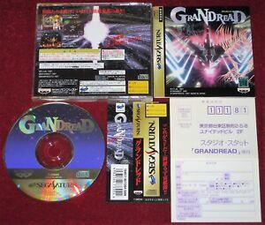 *Complete* Sega Saturn Game GRANDREAD NTSC-J Japan Import JPN Gran Dread