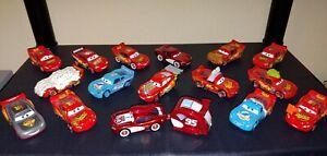 Disney pixar cars diecast lot #6 16 total vehicles new condition lose.