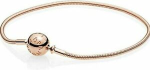 Pandora Fashion Bracelets Rose Gold Charm Ball Bracelet Snake Chain Valentine