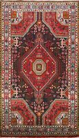Traditional Geometric Wool Hand-knotted Area Rug Oriental Kitchen Carpet 4x6 NEW