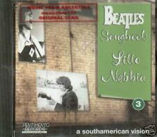 THE BEATLES TRIBUTE SONGBOOK VOL 3 CD LITTO NEBBIA