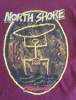 Harley Davidson Motorcycles Clothing Md T Shirt North Shore Hawaii Crimson