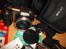 Olympus SP Series SP-600 UZ 12.0MP Digital Camera - Silver/BRONZE V.G..C