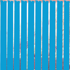 """Replacement Vertical Blind Slats Blue 89mm (3.5"""") & 127mm (5"""") + FREE EXTRAS"""