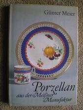 Porzellan aus der Meißner Manufaktur - Meißner Porzellan Mokkakännchen DDR Buch