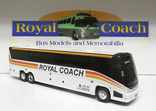 "Royal Coach (PA) Bus on an 11"" New Mold MCI ""J""  Plastic Bank Bus"