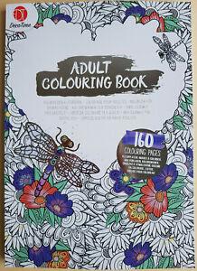 Mandala Premium Malbuch für Erwachsene 160 Motive A4 Stressabbau