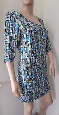 Very/South 3/4 Sleeve Print Tunic Dress 20 Multi