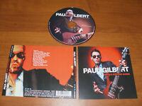"PAUL GILBERT "" BEHOLD ELECTRIC GUITAR "" 2019  CD !"