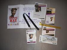 CHRISTOPHE MAE PASS BACKSTAGE VIP concert tour 2014 Collector Rare