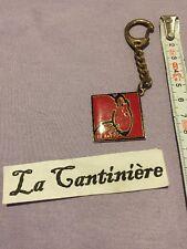 porte Clé Ancien Metal Le Rat La Française Des Jeux - 25102016