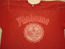 Vintage Alabama Crimson Tide Football  Jersey Style T Shirt S / M