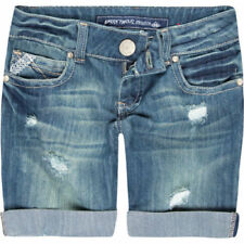 Almost Famous Destructive Bermuda Shorts Size 0 Brand New