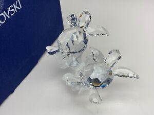 Swarovski Figurine 826480 Baby Turtles 3 1/2in Boxed + Certificate
