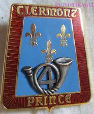 IN11220 - INSIGNE 4° Régiment de Chasseurs, Clermont Prince