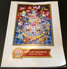 Kirby's 20th Anniversary Celebration Book Nintendo
