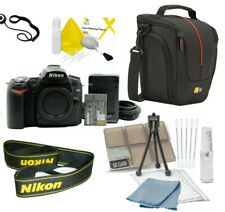Nikon D90 12.3 MP Digital SLR Camera - Black Kit w/ accessories)