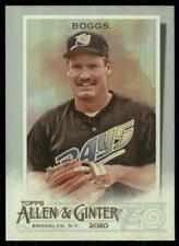 2020 Topps Allen and Ginter Hot Box Silver #126 Wade Boggs