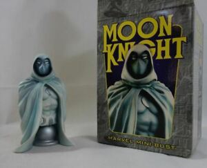 MARVEL mini-bust MOON KNIGHT n°2545/5000 BOWEN Designs 2002 Spector 14 cm RARE