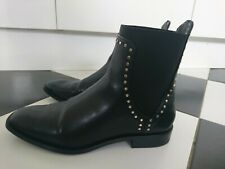 Zara ladies studded Chelsea boots size UK 7 EUR 40 great condition