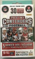 2020 Panini Contenders Football Hanger Box Joe Burrow Rookie Auto? donruss prizm