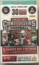 2020 Panini Contenders Football Hanger Box Joe Burrow Rookie Auto? donruss prizm