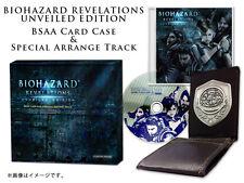 Biohazard Revelations BSAA Card Case & Soundtrack e-Capcom 2013 New JAPAN Import