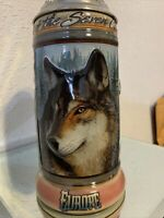 Budweiser Animals Of The Seven Continents Beer Stein. EUROPE. NIB