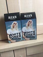 2 X Bleach London White Toner New