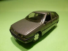 SOLIDO 1:43 CITROEN ZX - GREY METALLIC - RARE SELTEN - GOOD CONDITION