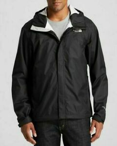 The North Face Mens Venture Jacket Rain Waterproof Jacket Black Size L