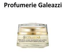 COLLISTAR ATTIVI PURI CREMA RICCA ACIDO GLICOLICO PELLE PERFETTA - 50 ml
