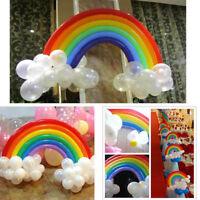 DIY Rainbow Latex Balloon Wedding Valentine Birthday Party Wedding Home Decor HN