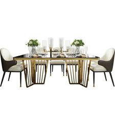 Diseño Mesa Grupo Ess Habitación Conjunto 6x Sillón Silla Asiento Tapicería Set