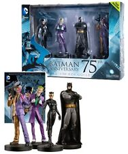 Eaglemoss DC Masterpiece Batman 75th Anniversary Figurine Box Set + Magazine NEW