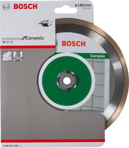 Bosch Pro Ceramic Diamond Disc, Electric Wet Tile Cutter Blade 180mm x 25.4mm