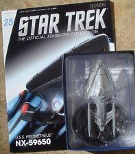 Eaglemoss Diecast Star Trek USS Prometheus NX-59650 #25  with Magazine