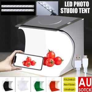 40CM Light Box Cube Room Camera Photo USB LED Photography Lighting Backdrop Tent