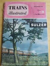TRAINS ILLUSTRATED DEC 1961 LONDON MIDLAND ELECTRIFICATION CHANNEL TUNNEL FRANCE