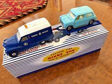 Vintage Dinky Toys | GIFT SET | Austin RAC Van + Trailer & Mini Minor / 470 - M