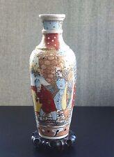 SATSUMA Vase Japon céramique Ceramic Japanese Meiji 19/20thc
