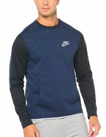 Nike Advance Men's Fleece Crew Neck Sweatshirt Training Top Jacket Sports XL