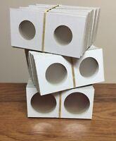 50 COWENS Cardboard 2x2 Coin Holder Mylar Flips for Silver Dollars QUALITY USA
